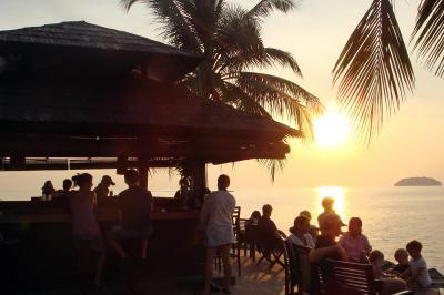 2007年10月【No.2】ボルネオ島コタキナバル3泊5日の旅☆3・4・5日目~マヌカン島でシュノーケリング&ボルネオ島のサンセット シャングリラタンジュンアルに滞在