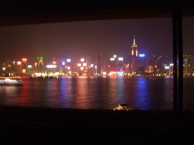 2008年9月【No.1】香港・マカオ3泊4日の旅☆1・2日目~スターフェリーで香港島&ホテルでアフタヌーンティー インターコンチネンタル香港に滞在