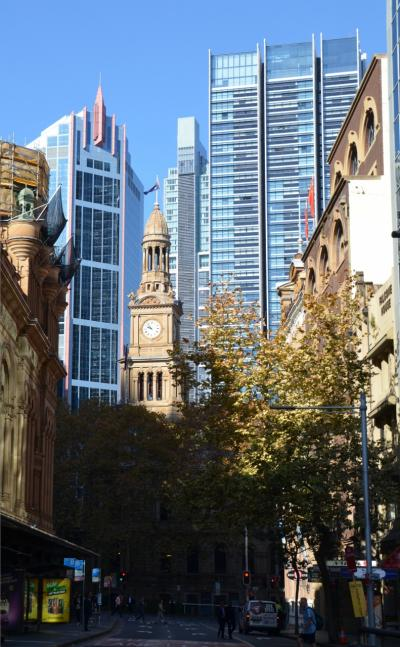 シドニー滞在記No.1:市内の歴史的建築物と教会、オーストラリア博物館などを巡る