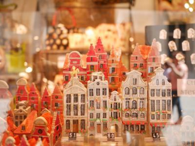 ワッフルとチョコレートの街ブリュッセル