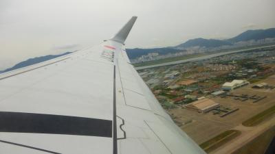 JALのディスカウントマイル利用で行く、釜山2泊&東京1泊の旅【帰国時の、JL958便〔釜山~成田〕搭乗編】
