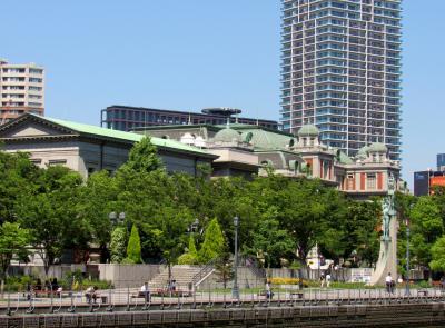 娘の暮らす大阪への旅~水上バスから見える大阪の街