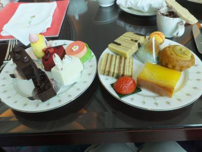 5年ぶりのシンガポール 3日目 ホテルでデザートブッフェを体験。