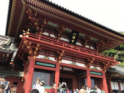 年の差カップル鎌倉散策