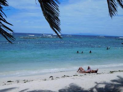 初めてのボホール島!ダイビングのあとはのんびり滞在しましたが、乾季の天気は最高でしたね。
