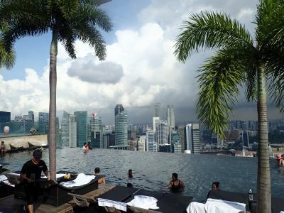 シンガポール:マリーナ・ベイ・サンズ宿泊