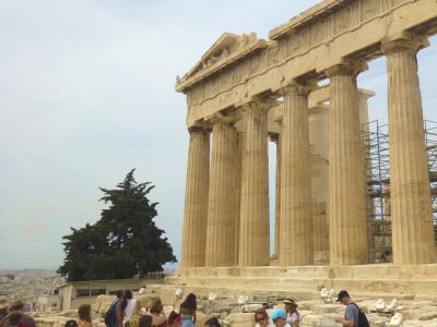 ギリシャ5・・アテネの王道コースをひと巡り
