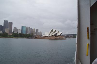 DAWN PRINCESS 号に乗ってニュージーランド周遊とちょっとだけシドニー その3 シドニー出港