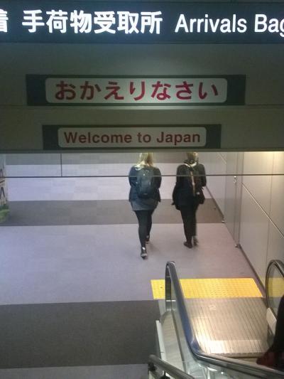 里帰り帰国・ローマから成田へ。