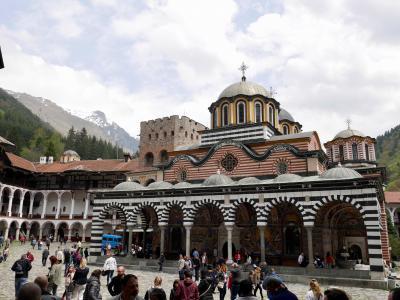 何となくブルガリアに行ってみました<3>~リラの僧院でアジアを感じる