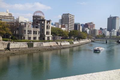 両親と娘と広島旅行