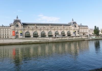 最後の海外旅行となるか2017年フランスの旅5。朝のセーヌ河岸からオルセー美術館その1。