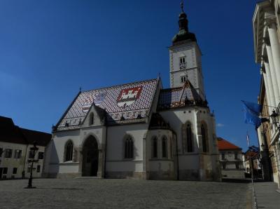 クロアチア旅行 (1) ザグレブは緑があふれ鳥のさえずりが心に残る街