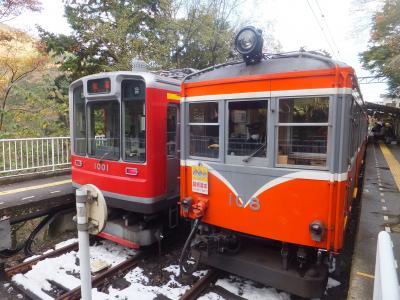 2016 初の大雄山線乗りつぶしと箱根【その3】箱根湯寮で立ち寄り湯