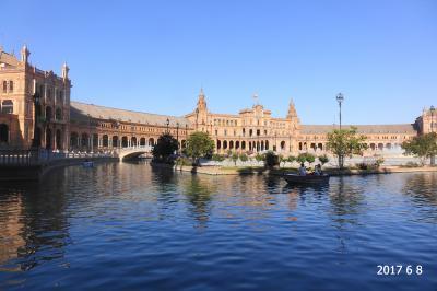 妻と行くスペイン(7-①) 世界で三番目に大きいセビリア大聖堂&広くて美しいスペイン広場に圧倒された