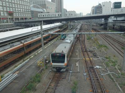 「バスタ」なのに鉄道好きの聖地になった。はしる電車がいっぱい見れます。