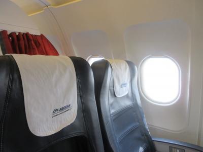 エーゲ航空 ビジネスクラスでイスタンブールからアテネへ