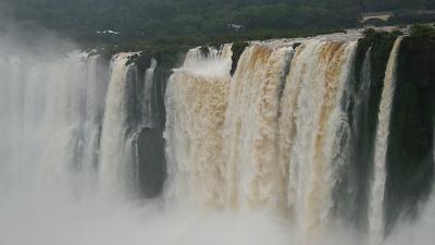 壮大なイグアスの滝