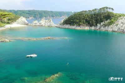 行きたい所をたくさん詰め込んで♪岩手縦断470Kmの旅(2)【浄土ヶ浜&青の洞窟】