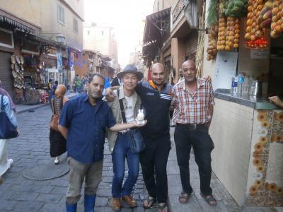 1泊4日で悠久の歴史遺産をたどるドイツとエジプトの旅 その5 人生初のアフリカの地に到達\(^o^)/!ピラミットとスフィンクスを自分の目で見て、古い街並みと人情漂うカイロを散策