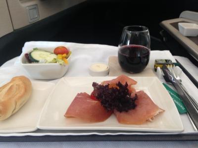 スペイン・イタリアの旅⑬【ビジネスクラス搭乗記 CX242ローマ→香港、CX548香港→羽田】