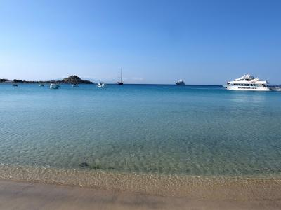 2017年 ギリシア旅行 ミコノス島で最高の海を見る