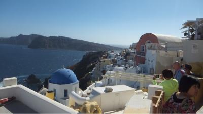 ギリシャ旅行記①旅の始まり!エーゲ海の真珠・魅惑の青と白の世界サントリーニへ!