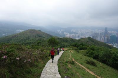 """駐在のついでに 【その35】 香港で4度目の山歩きは """"石龍拱(474m)""""で、「汀九橋」「青馬大橋」のビュー満喫。打上げは、深井名物「焼鵝」の老舗店""""裕記大飯店""""へ!"""