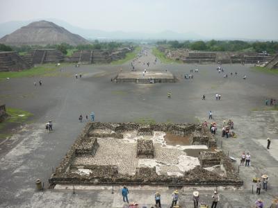 ANA特典でメキシコへ  2017年7月  ⑤メキシコシティ
