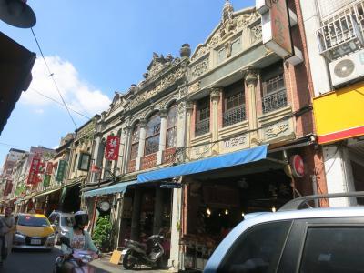 台湾の素敵な建物巡り ~日本統治時代の建物を中心として~ 【台北 Part3 台北駅北西の迪化街の建物たち】