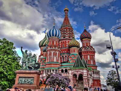 ロシア&バルト三国の旅 【3】 モスクワ[1]