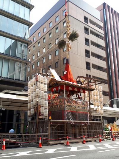 京都祇園祭の三連休
