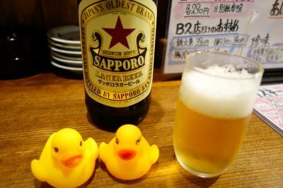 20170713 大阪 (スワンナプーム) → 徳田商店立飲み → はなだこ → 味十味本店