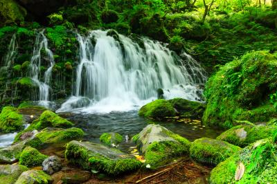 意外に?風景と食べものに満喫秋田県〜元滝伏流水・川原毛地獄・田沢湖…