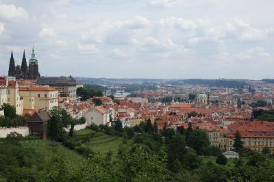 チェコ旅行-4:プラハ(眺望の良い場所2つとおまけ)