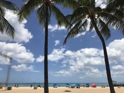 プレミアムフライデーと2日休んでハワイに行ってきたよ!① ダイヤモンドヘッドと花火編
