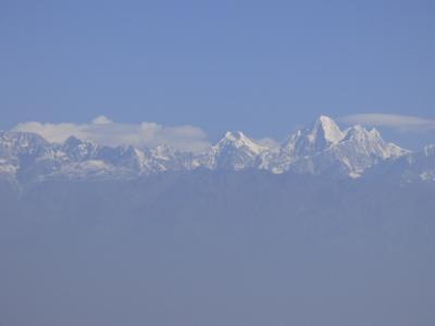 ソウル・バンコク経由ネパールの旅 ナガルコット