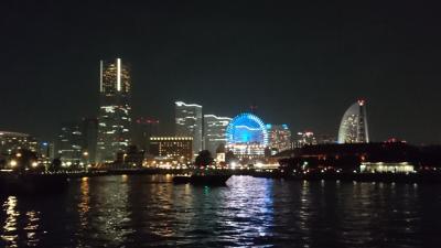 日帰りで横浜街歩きと花火を見に行きました。