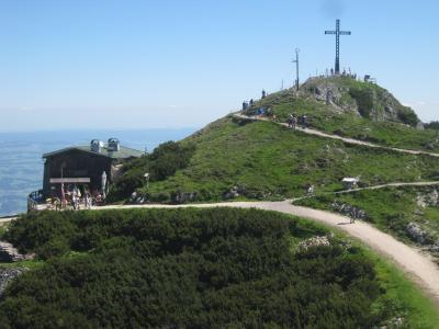 「すべての山に登れ!!! 標高1776m、山頂の温度12度のウンタースベ…