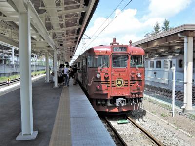 baba友信州女子旅1(1日目前編:観光電車「ろくもん」乗車)