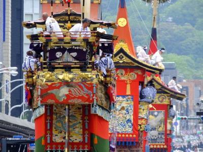 祇園祭 前祭 山鉾巡行と名水巡り!2017年