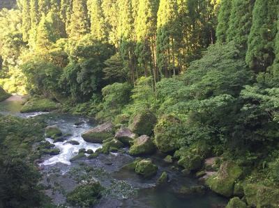 2017年鹿児島、宮崎の旅② 天降川温泉 ホテル華耀亭