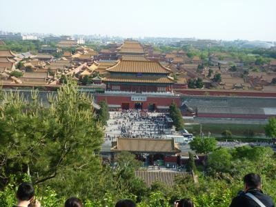 人と車であふれかえっていた北京