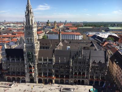 ミュンヘン市内観光