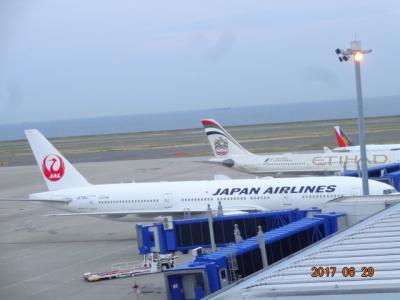 JALスカイスイートⅢ ビジネスクラス(セントレア⇔ホノルル・イノウエ国際空港) に乗りました。