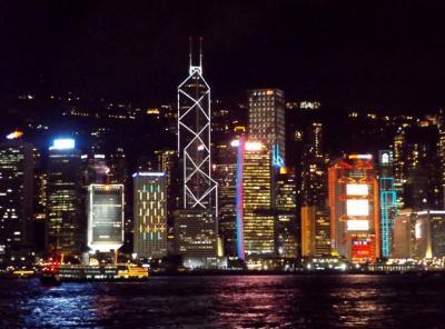 母の傘寿祝 IN 香港マカオ 2日目は香港市内観光。HISツアー「世界遺産を含む名所観光&4回の食事付! 香港&マカオデラックスクラスホテル」。
