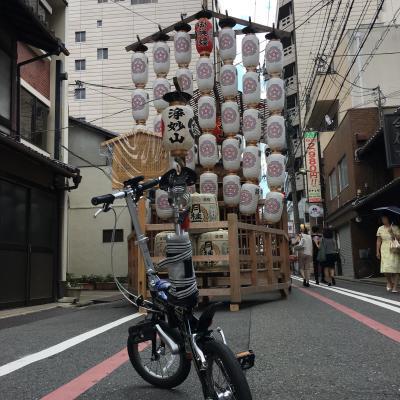 青春18きっぷ 京都輪行日帰りの旅…のハズだった