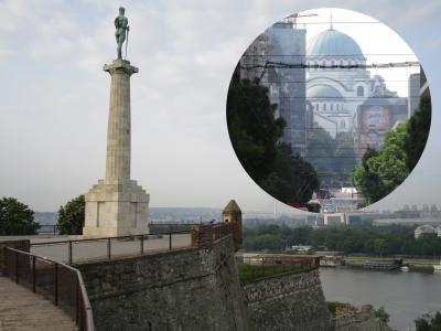 ドナウ川とサヴァ川が合流した最古の都市ベオグラード