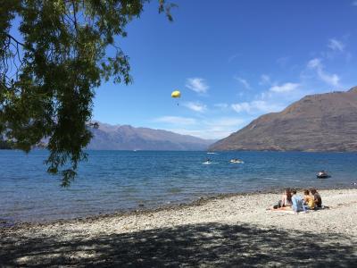 夏のニュージーランド・マウトンクック・ルートバーントラックと南島巡り=2・クイーンズタウン=