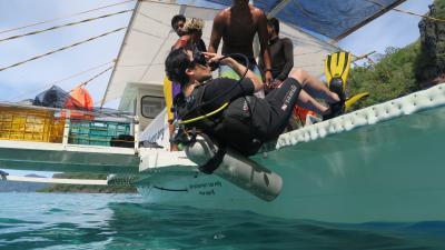 駐在のついでに 【その43】 フィリピン遠征⑨ エルニド2日目、1年2ヶ月ぶりのダイビング!